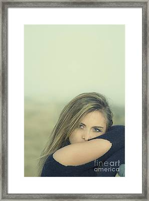 Voice Of My Silence Framed Print