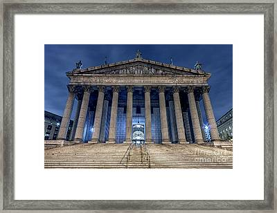 Voice Of Shadows Framed Print