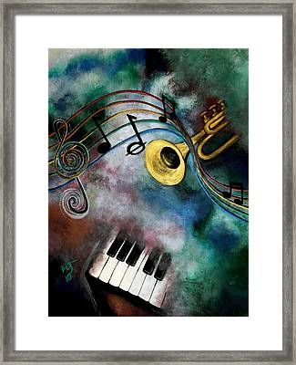 Voice Of The Trumpet Framed Print