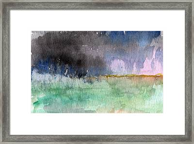 Voices Carry Framed Print by Linda Woods