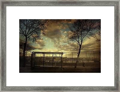 Void 17.40 Framed Print