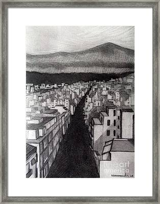 Void City Framed Print by Kostas Koutsoukanidis