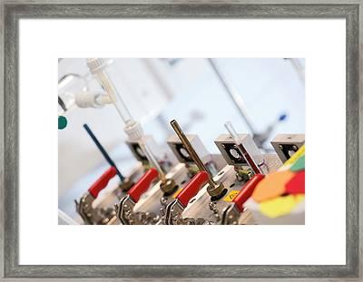 Volatile Organic Compounds Detector Framed Print