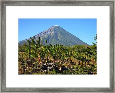Volcan Concepcion Nicaragua Framed Print