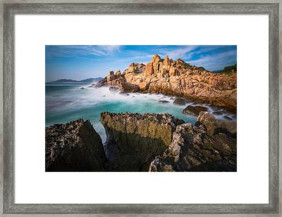 Volcanic Rock 6 Framed Print by Nhiem Hoang