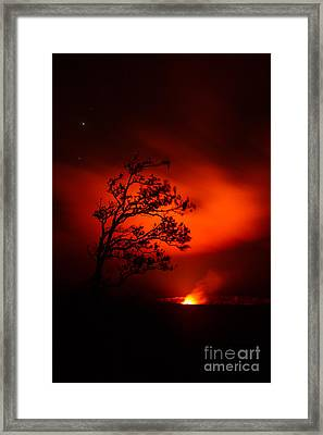 Volcano National Park Hawaii Framed Print
