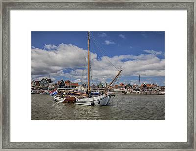 Volendam Framed Print