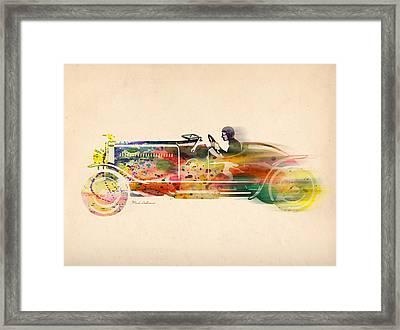 Volkswagen Framed Print by Mark Ashkenazi