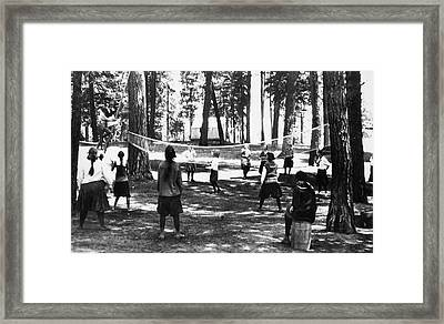 Volleyball, 1920 Framed Print by Granger