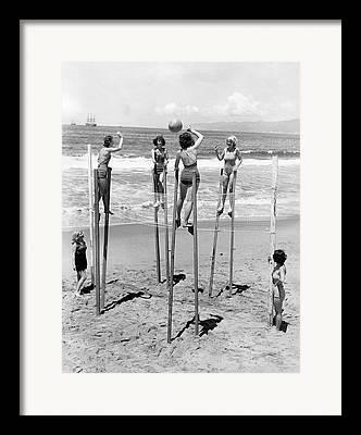 Stilts Framed Prints