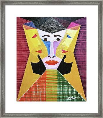 Volonte Framed Print by Michael Bellon