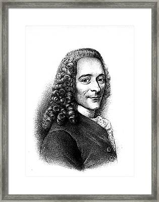 Voltaire Framed Print