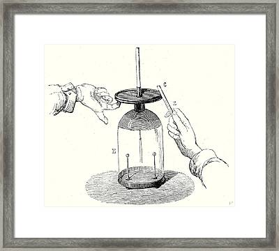Voltas Fundemental Experiment Framed Print by English School