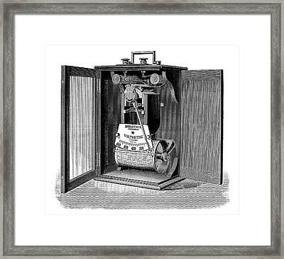 Voltmeter Recorder Framed Print