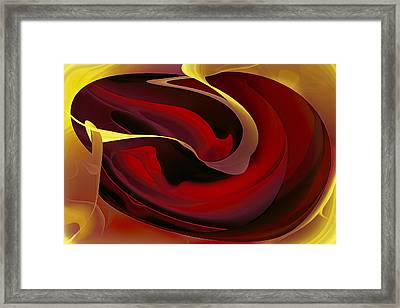 Voluptuous Framed Print by Diane Dugas