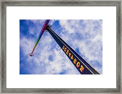 Vomatron Framed Print by Paul Wear