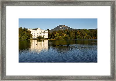 Framed Print featuring the photograph Von Trapp's Mansion by Silvia Bruno