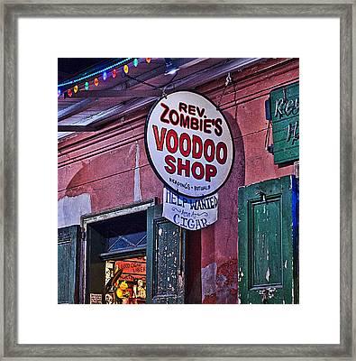 Voo Doo Gifts Framed Print