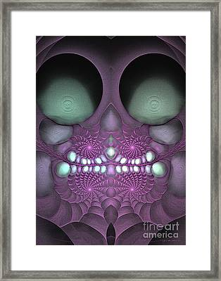 Voodoo Child - Surrealism Framed Print
