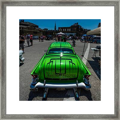 Voodoo Kreeper - Rear View Framed Print