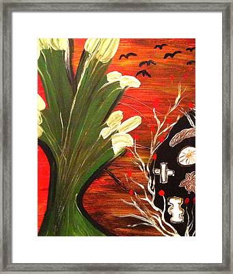 Voodoo Framed Print by Pretchill Smith