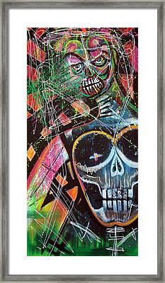 Voodoo Queen Framed Print by Laura Barbosa
