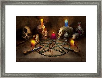 Voodoo - The Power Of Voodoo Framed Print