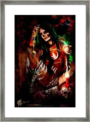 Voodoo U Framed Print