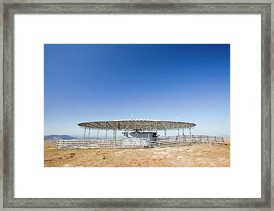 Vor Navigation Beacon Framed Print