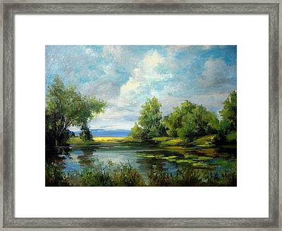 Voronezh River Beauty Framed Print