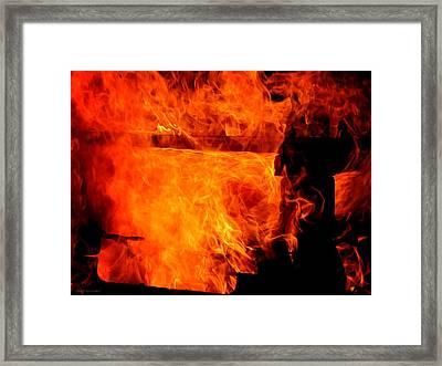 Vortex Framed Print by Greg Simmons