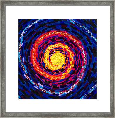 Vortex Framed Print by Patrick OLeary