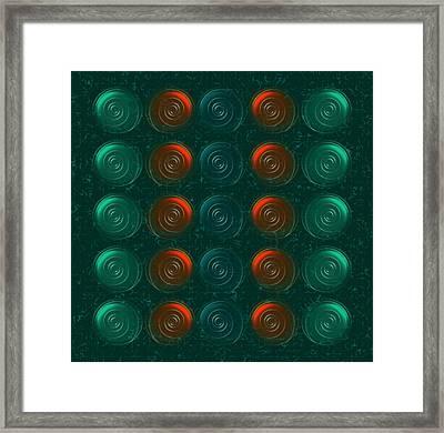 Vortices Framed Print by Anastasiya Malakhova
