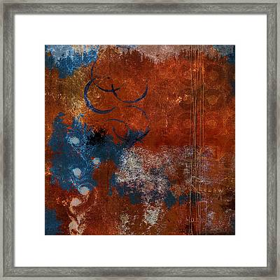 Vortices Framed Print by Carol Leigh