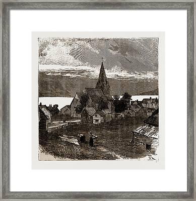 Vossevangen, Norway Framed Print by Litz Collection