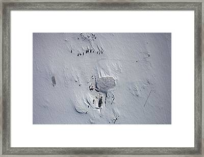 Vostok Station Framed Print by Nasa Goddard Space Flight Center