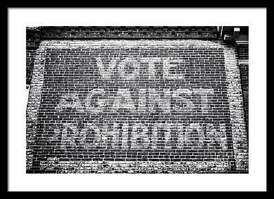 Voted Images Framed Prints