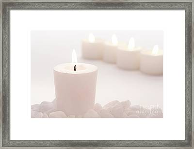 Votive Candle Framed Print