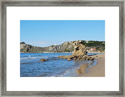 Framed Print featuring the photograph Vouno 2 by George Katechis