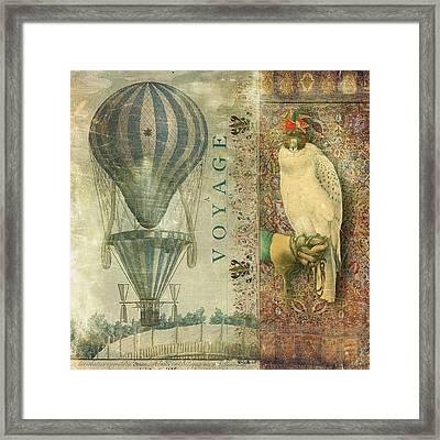 Voyage Framed Print by Aimee Stewart