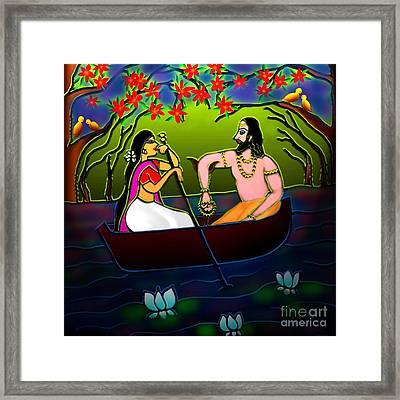 Voyage Framed Print by Latha Gokuldas Panicker