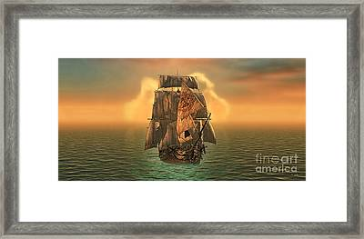 Voyage Framed Print by Mo T