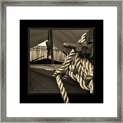 Voyage To The New World Framed Print by Barbara St Jean