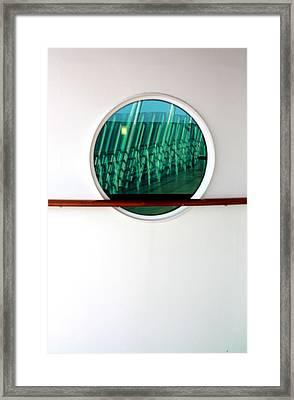 Voyager Of The Sea Framed Print by Joe Kozlowski