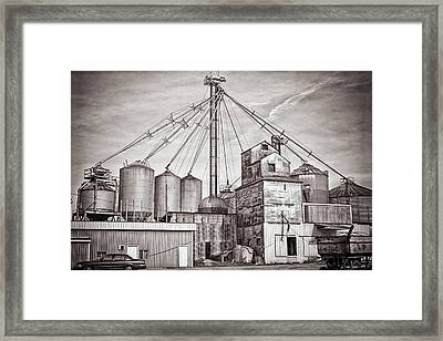 Voyces Mill Framed Print by Sennie Pierson