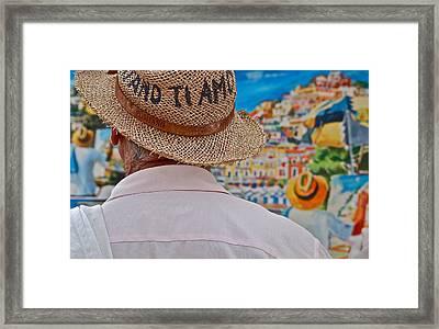 Voyeur Artist To Artist Framed Print
