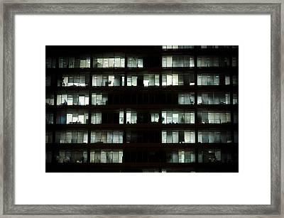 Voyeur Framed Print by Pablo Lopez