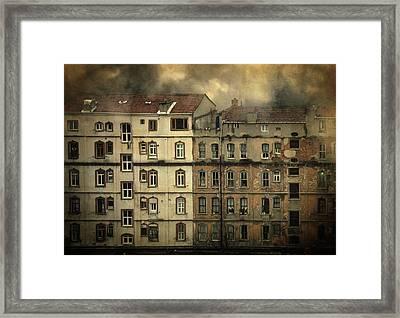 Voyeur Framed Print by Taylan Apukovska