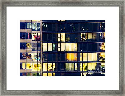 Framed Print featuring the photograph Voyeuristic Pleasure Cdlxxxviii by Amyn Nasser