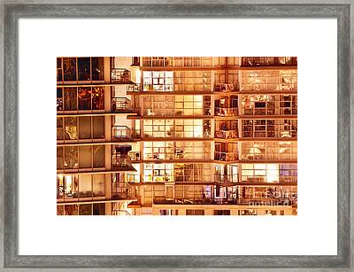 Framed Print featuring the photograph Voyeuristic Pleasures Cdxci by Amyn Nasser